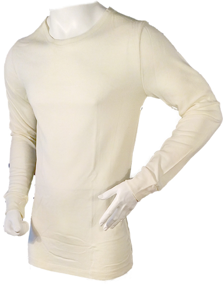 291 MENS MERINO WOOL LONG SLEEVE UNDERSHIRT