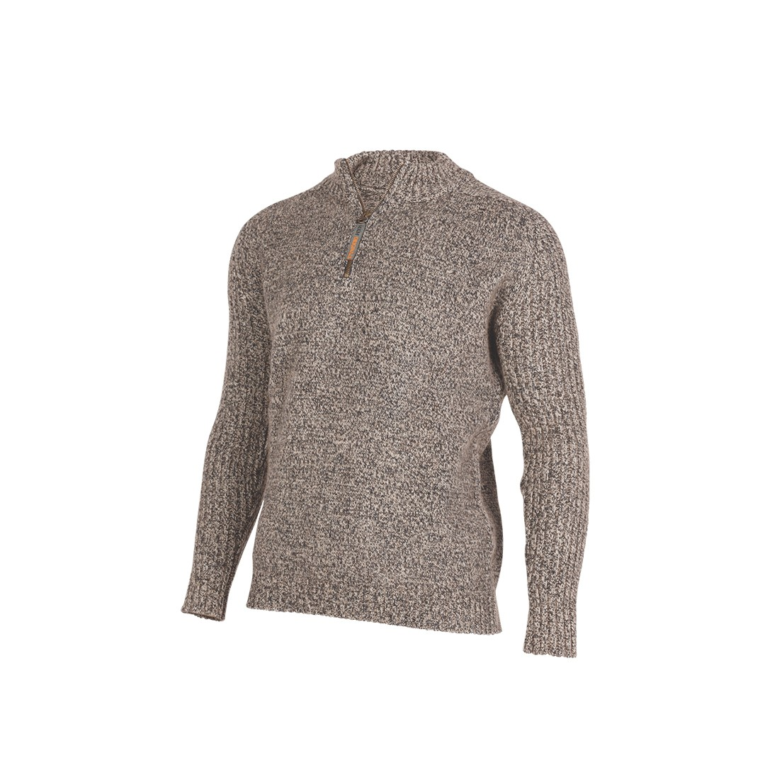(MS1433) Mount merino wool and possum sweater
